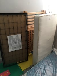 Baby crib with mattress with all accessory  Toronto, M3L 2H8