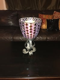Mosaic candle holder Mount Airy, 21771