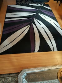 black, white, and Purple area rug Barrie, L4M 0G9