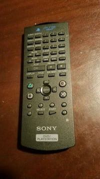 Sony PS2 DVD remote Simpsonville