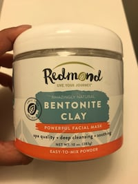 NEW REDMOND Bentonite Clay Facial Mask Markham, L3R