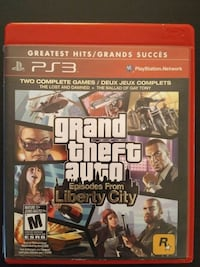Grand Theft Auto Episodes from Liberty City PS3  Vaughan, L4L 6Z1