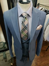 gray and blue suit jacket Montreal, H2N 1C8