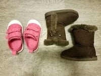 Size 5 toddler shoes ane boots Gaithersburg, 20886