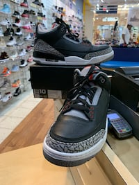 Air Jordan 3 OG Black Cement 2018 Size 10 Beltsville, 20705
