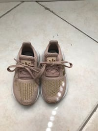 Rose Gold Adidas for Girls