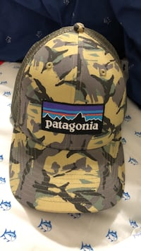 purple, black, and white Patagonia track cap Biloxi, 39532