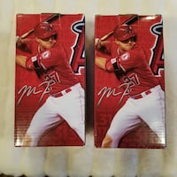 Los Angeles Angels 2015 Trout MVP Bobblehead two Long Beach