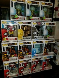 Spider man funko pops $20  EACH