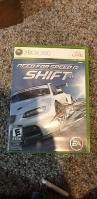Xbox 360 need for speed shift Campton Hills, 60175