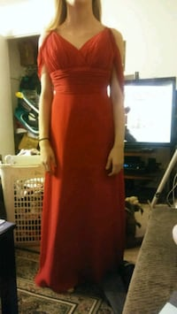 women's red sweetheart gown Kannapolis, 28081