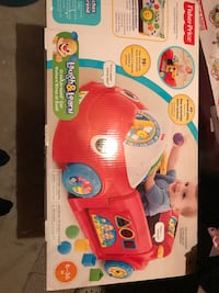 Fisher-price laugh & learn crawl around car box
