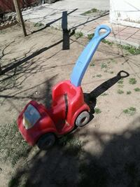 baby's red and blue ride on toy Santa María, 93454