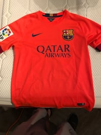 Nike FC Barcelona Lionel Messi jersey sz M