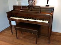 Blasius Piano with bench Selden