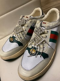 Gucci Screener Sneakers Men size 10 in great condition Silver Spring, 20904
