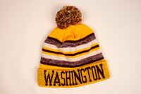 Redskins Winter Hat Hughesville