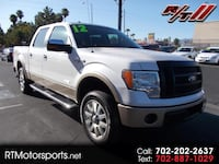 2012 Ford F-150 XLT SuperCrew 6.5-ft. Bed 4WD Las Vegas
