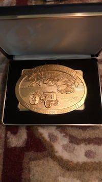 John Deere Limited addition belt buckle. The tradition continues. Platte City, 64079