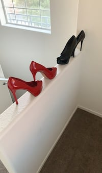 Women's Heels Brian Atwood both for $15. Pick up only  Henderson, 89011