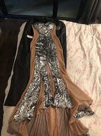 One of a kind mermaid illusion dress Toronto, M4P 1R4