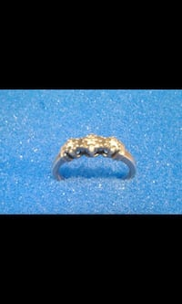 Pure Silver stamped ring