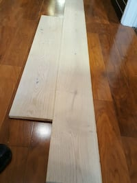 Engineered hardwood European white oak 2385 mi