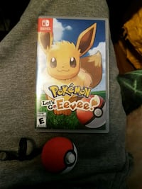 Pokemon lets go eevee and pokeball plus Guelph, N1H 2A9
