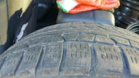 """Winter Tires for sale  [PHONE NUMBER HIDDEN] H XL 16"""" rims Burnaby, V3N 2B8"""