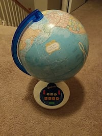 like new cond Geosafari globe.Asking  $40 OBO  Herndon, 20171