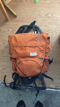 Hiking backpack by Coleman.
