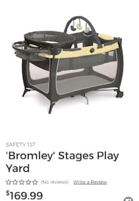 Safety 1st Bromley Stages Playpen  Calgary, T3N 0E4