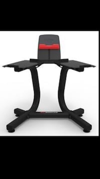 Bowflex Dumbbells Weight Stand with Media Rack  Cypress, 77429