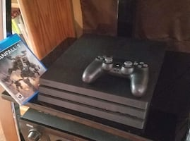 FS: PS4 pro 1tb w/ one game