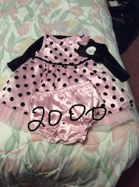 Two brand new baby dresses Georgetown, L7G 4B7
