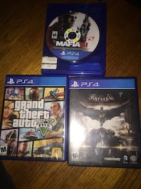 three assorted PS4 game cases Norfolk, 23513
