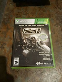 Fallout 3 Game of the Year Edition Xbox360/Xbox 1 Atlanta, 30319