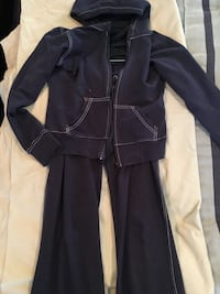 Navy Sweat suit white detail Sm Bakersfield, 93312