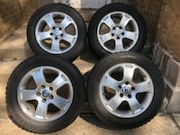 AT Italia Alloy Wheels 7Jx16 H2 with tires FREE DELIVERY Chicago