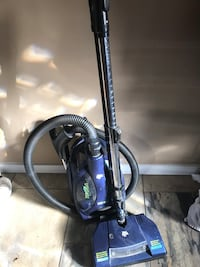 purple and black upright vacuum cleaner Calgary, T3C 3G9