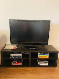 42IN SHARP TV with remote control and TV stand Arlington, 22204
