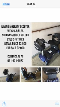 ILiving Mobility Scooter