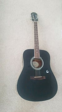 black and brown acoustic guitar Tecumseh, 49286