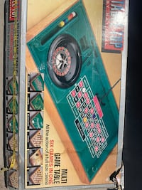 Multi Game Table Top- 6 Games In One