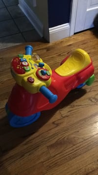 toddler's red and blue ride on toy Melville, 11747