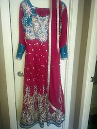 anarkali long indian dress TORONTO