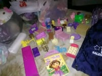 assorted color plastic toy lot Hagerstown