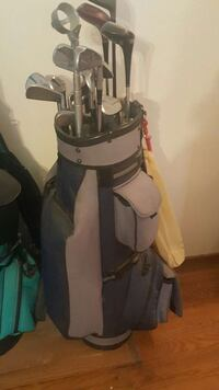 gray and black golf bag with golf clubs Yuba City, 95993