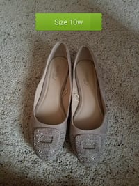 size 12 gray leather flats Bozeman, 59715
