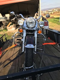 Black and gray touring motorcycle Hagerstown
